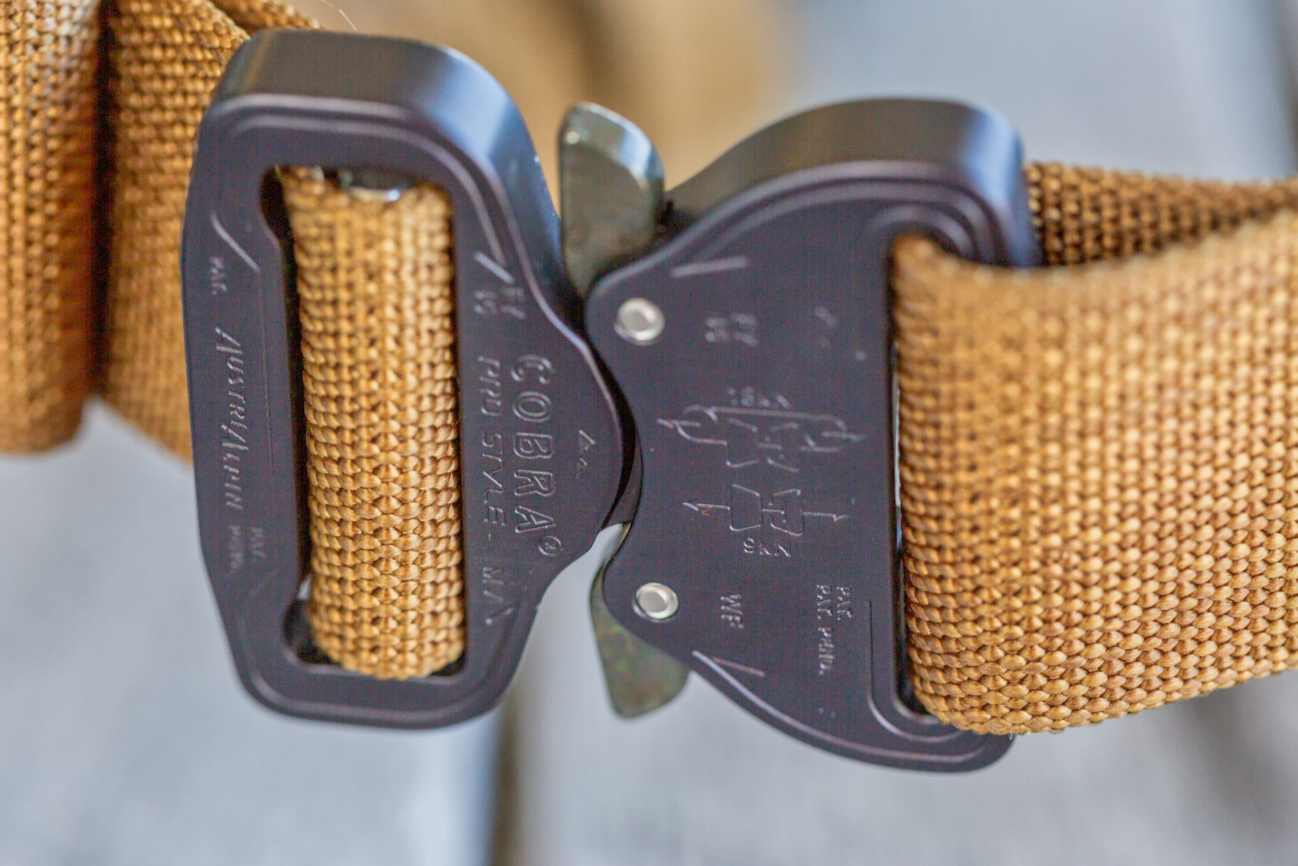 , Blue Alpha Gear Molle Double Belt Rig