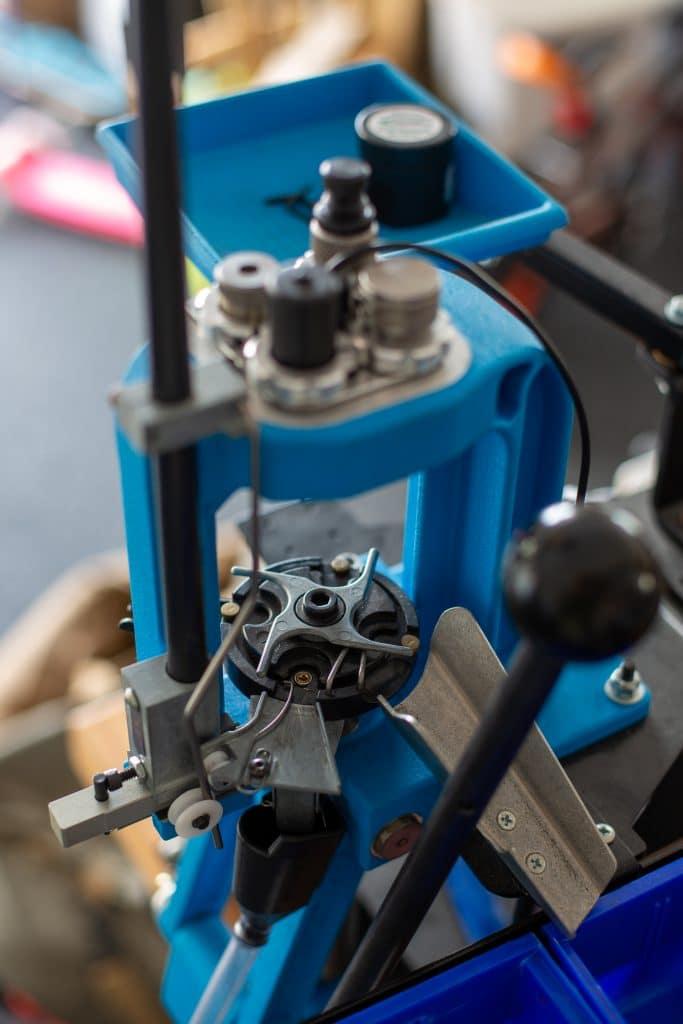 , Precision Rifle ammo on a progressive press.